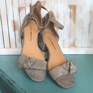 Lucky Brand Suede Sandal